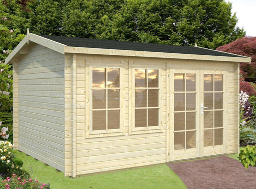 Iris 11.1sqm Log Cabin