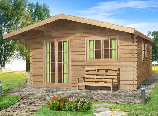 Low Liverpool Log Cabin