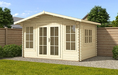 Galashiels log cabin garden office Log Cabins for sale Free