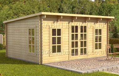 Barcelona log cabin garden office log cabins for sale for Garden office wales