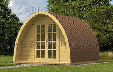 Camping Pod A Log Cabin