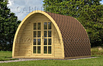 Camping Pod A log cabin kits