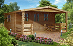 Gorbea log cabin kits