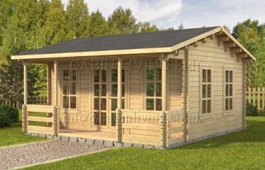 Malta log cabin garden office log cabins for sale free for Garden office wales
