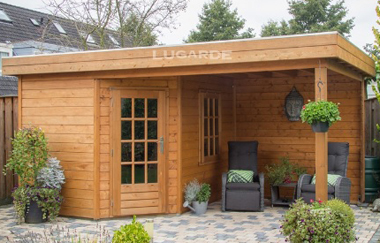 Rose log cabin garden office log cabins for sale free for Garden office wales