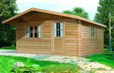 Callander log cabin garden office log cabins for sale for Garden office wales