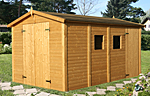 Dan 10.0sqm log cabin kits