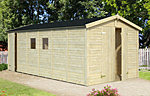 Dan 14.2sqm log cabin kits