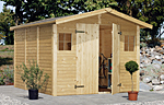 Dan 7.7sqm log cabin kits