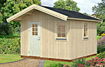 Hedwig 10.2sqm log cabin kits