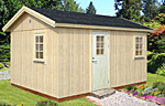 Hedwig 13.6sqm log cabin kits