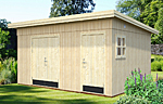 Kalle 13.5sqm log cabin kits