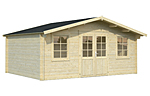 Klara 17.0sqm log cabin kits