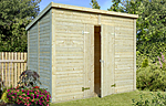 Leif 4.2sqm log cabin kits