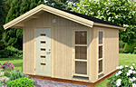 Ly 10.2sqm log cabin kits
