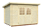 Mary 5.7sqm log cabin kits