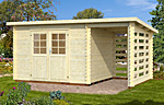 Mary 7.2+3.5sqm log cabin kits