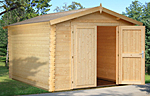 Ralf 9.6sqm log cabin kits