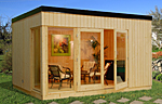 Solveig 13.6sqm log cabin kits