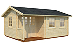 Susanna 16.4sqm log cabin kits