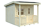 Aksel 3.1sqm log cabin kits