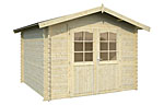 Lotta 7.3sqm log cabin kits