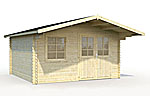 Britta 14.6sqm log cabin kits