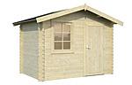 Klara 4.7sqm log cabin kits