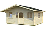 Helena 24.6sqm log cabin kits