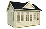 Claudia 11.5sqm log cabin kits