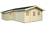 Emily 39.2sqm log cabin kits