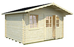 Emma 10.4sqm log cabin kits