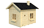 Grete 3.7sqm log cabin kits