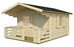 Sylvi 10.4+4.2sqm log cabin kits