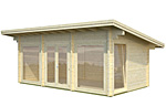 Heidi 19.7sqm log cabin kits