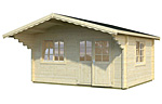 Helena 15.1sqm log cabin kits