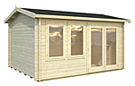 Iris 11.1sqm log cabin kits