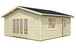 Irene 27.7sqm log cabin kits