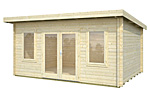 Lisa 14.2sqm log cabin kits