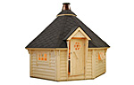 Eva 11.4sqm log cabin kits