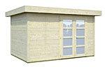 Lara 8.4sqm log cabin kits