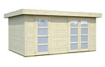 Lara 12.7sqm log cabin kits