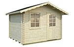Emma 4.6sqm log cabin kits
