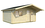Sally 15.5sqm log cabin kits