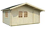 Emma 14.2sqm log cabin kits