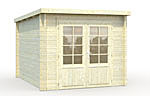 Ella 6.9sqm log cabin kits