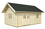 Sandra 29.9sqm log cabin kits