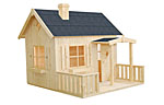 Otto 3.6sqm log cabin kits