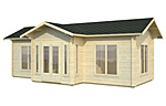 Anna 26.8sqm log cabin kits
