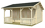 Ramona log cabin kits